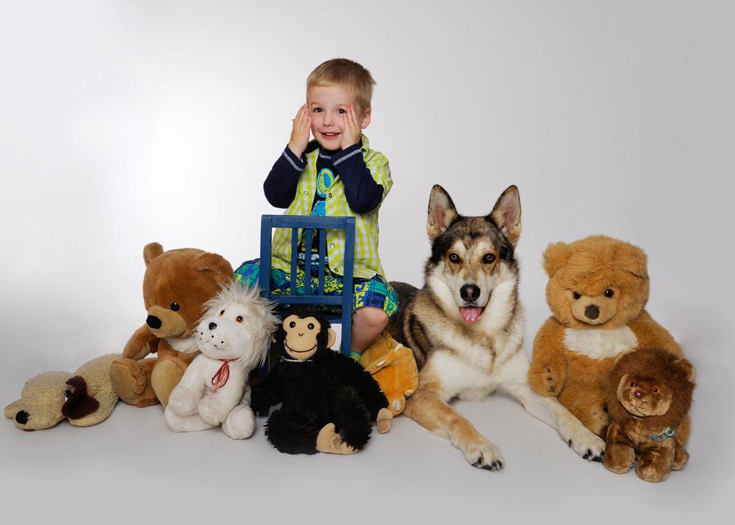 Kinderfoto, Tierfoto