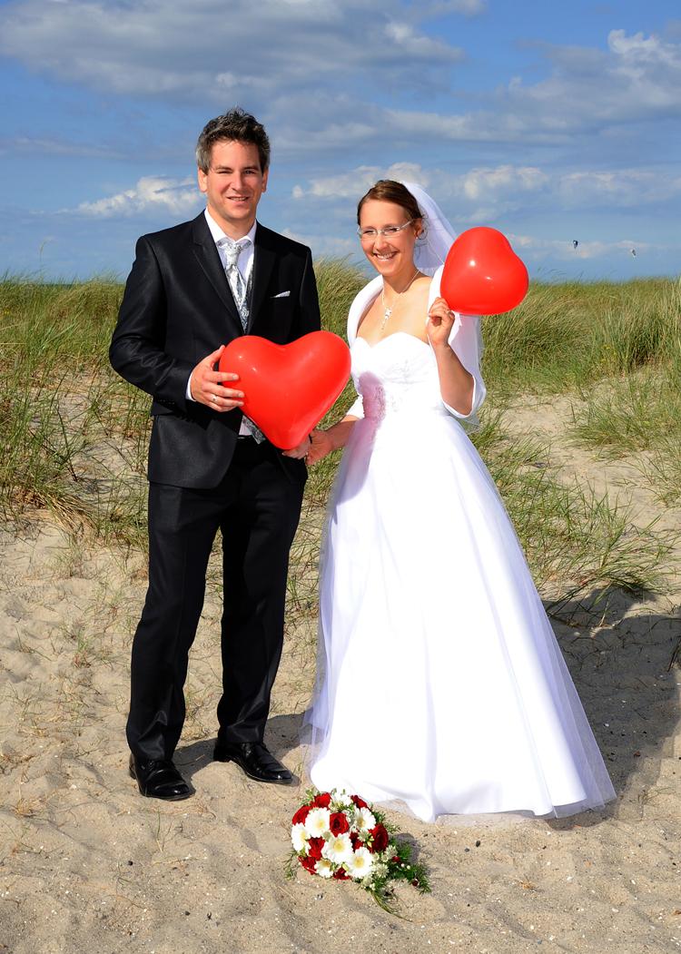 Hochzeitsportrait, Kieler Förde
