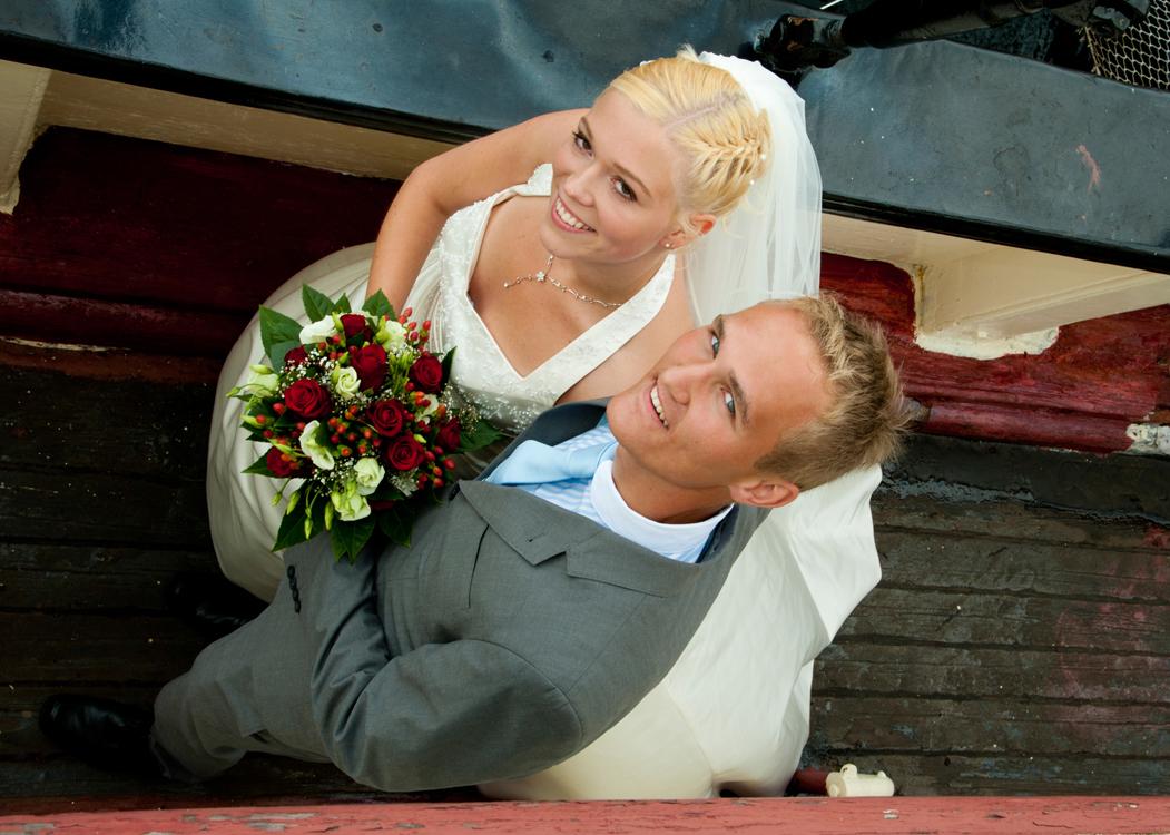 Hochzeitsfoto, Heikendorf