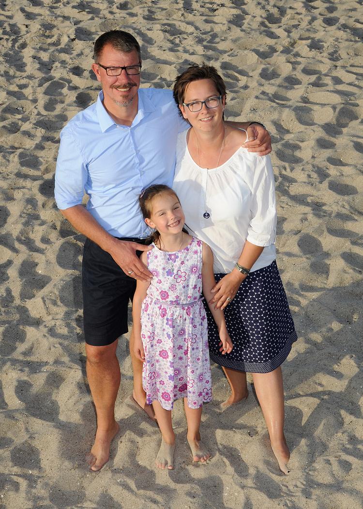 Familienfoto, Heikendorfer Strand
