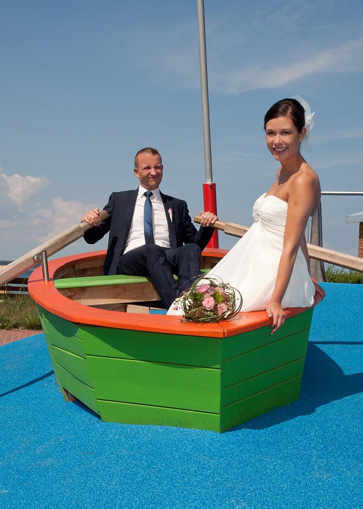 Hochzeitsfoto Laboe