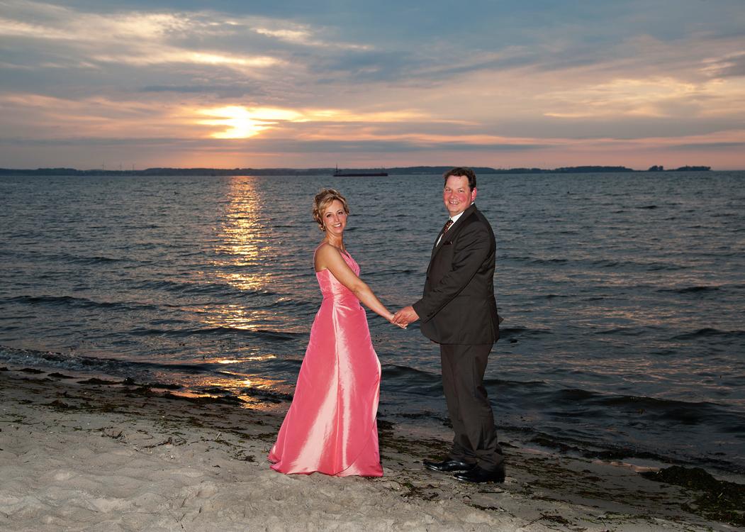 Hochzeitsfoto Stein